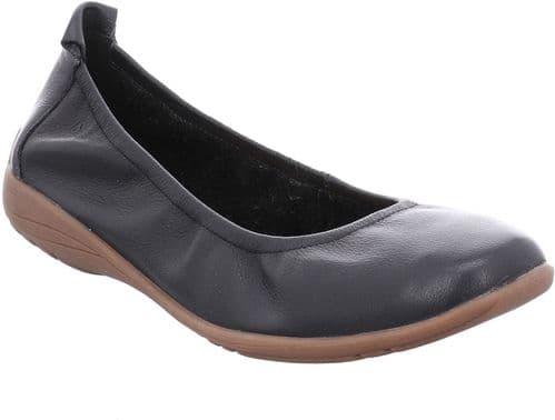 Josef Seibel Fenja 01 Slip On Ladies Shoes Schwarz